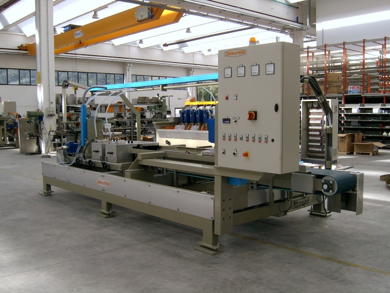 Maschine für Fallkerben