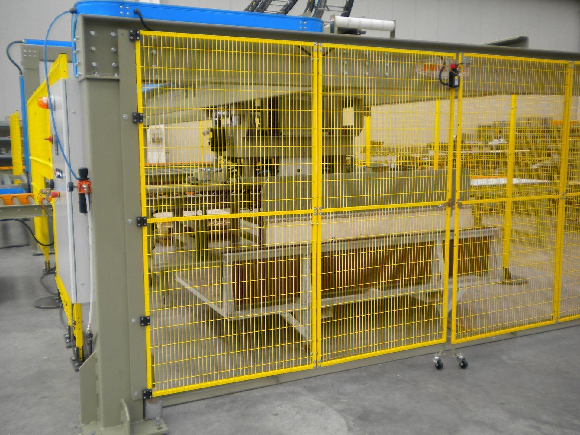 Pallettizzatore a portale con ventosa per lastre o strisce