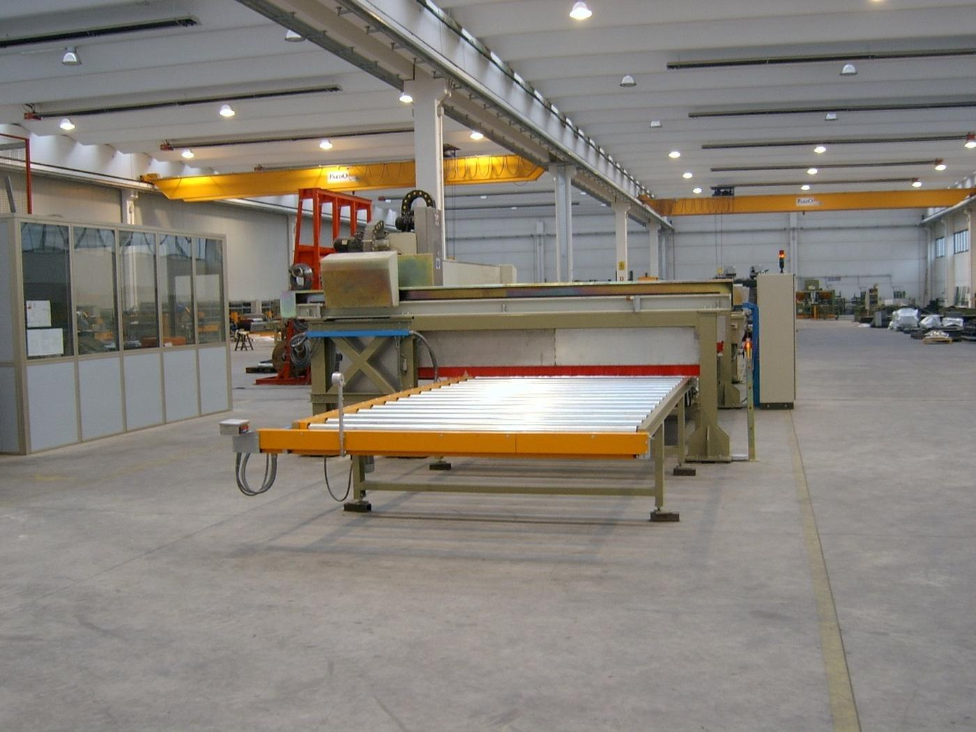 Selection and processing of marble slabs